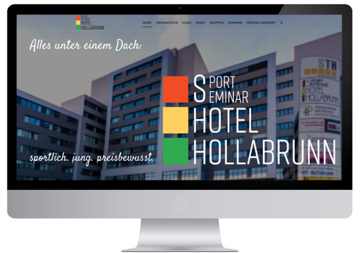 Website Sporthotel Hollabrunn